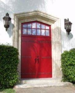 Metaphysical Chapel's Red Door